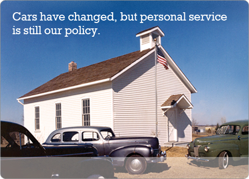 Cars have changed, but personal service is still our policy